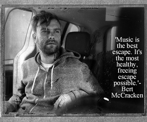 bert mccracken, escape, and music image