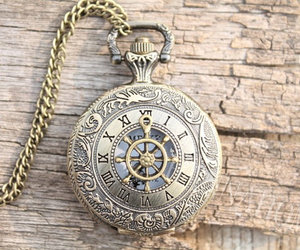 pocket watch and nacklace image