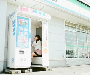 japan, girl, and photo image