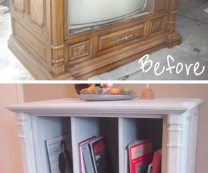 creative, diy, and old tv image
