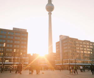 berlin, happy, and spring image