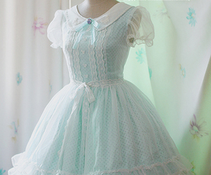 dress, lolly, and pastel image