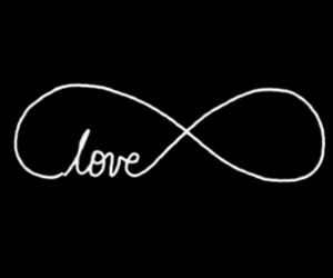 overlay, love, and infinity image