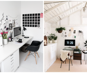 desk, house, and interieur image