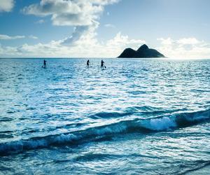 sea, summer, and sun image