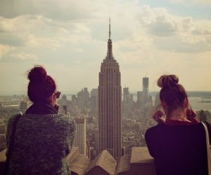 girl, new york, and friends image