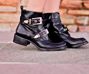 boots, street, and fashion image