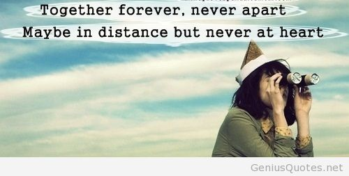 Together Forever Never Apart Quotes On We Heart It