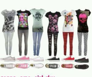 emo, shoes, and outfits image