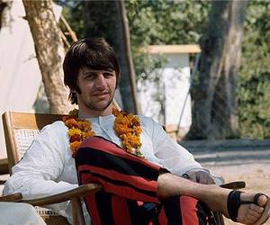 ringo starr, the beatles, and india image