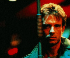 terminator, kyle reese, and michael biehn image