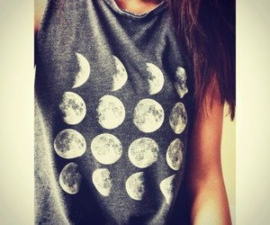 moon, fashion, and clothes image