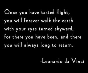 flight and quote image