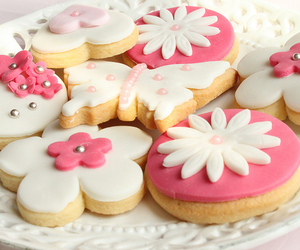 Cookies, sweet, and flower image