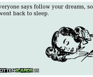sleeping, follow your dreams, and sweet dreams image