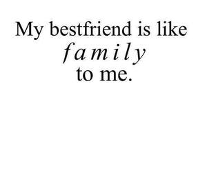 family, quote, and best friends image