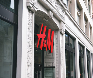 H&M, fashion, and shopping image