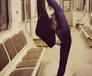 flexible, dance, and ballet image