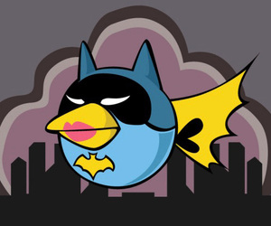 batman and angry birds image