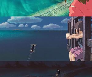 anime, spirited away, and Hayao Miyazaki image