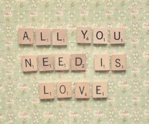 love, need, and vintage image