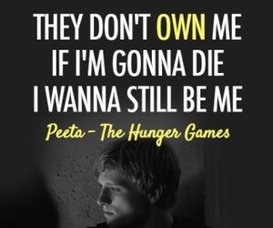 hunger games, the hunger games, and peeta image