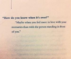 over, quote, and love image