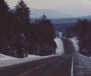 beautiful, road, and mountains image