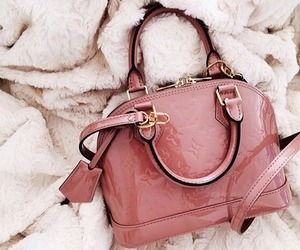 bag, fashion, and pink image