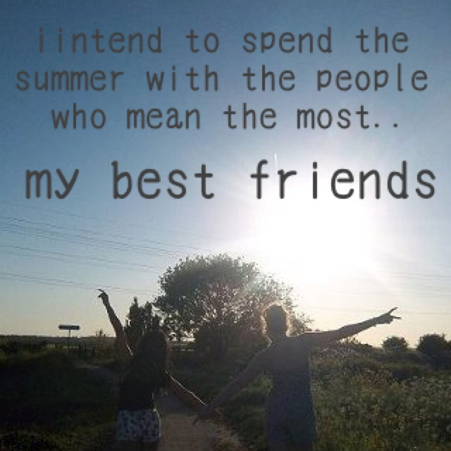 summer with friends quotes   Google Search on We Heart It