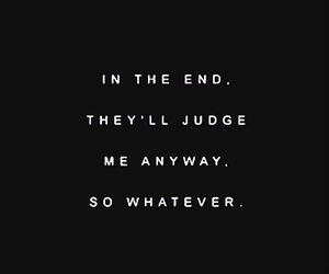 judge, oh well, and in the end image