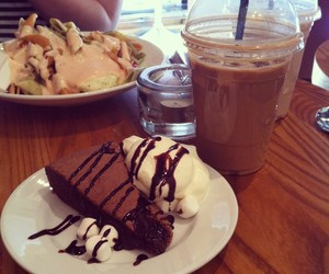 chocolate, coffee, and eat image