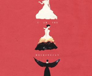 mockingjay, catching fire, and katniss everdeen image
