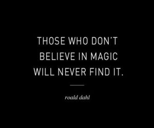 magic, quote, and believe image