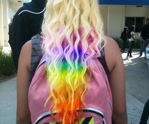 color, cute hair, and fashion image