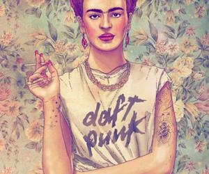 Frida, frida kahlo, and daft punk image