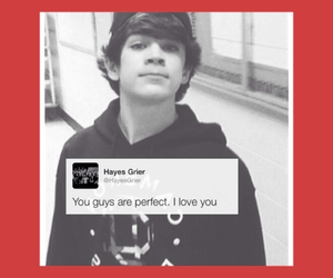 lovehim, magcon, and hayes grier image
