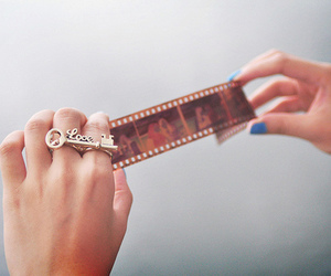 film, nails, and photography image