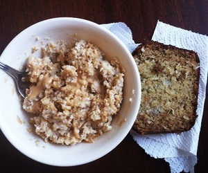 oatmeal, healthy food, and clean eating image