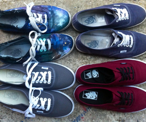 shoes, vans, and grunge image