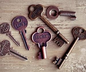 key, love, and secret image