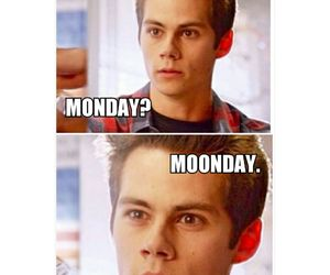 teen wolf, monday, and stiles image