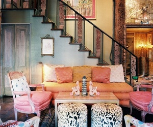 bohemian, pink, and vintage image