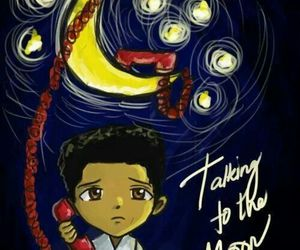 bruno mars, talking to the moon, and moon image