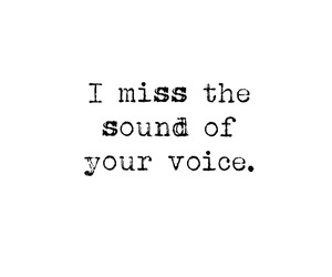 miss, quote, and voice image