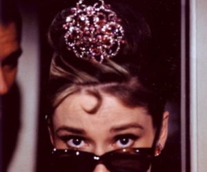 audrey hepburn, Breakfast at Tiffany's, and vintage image