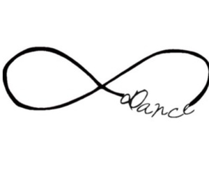 dance, infinity, and forever image
