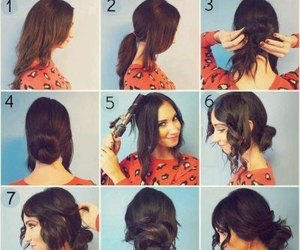 hair, hair tutorial, and hair style image
