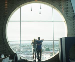 couple, boy, and window image