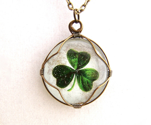 christian, clover, and emerald image
